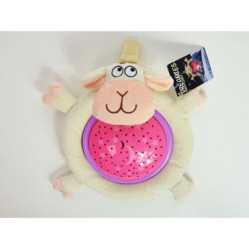 Kuscheltier-Leuchte Schaf Kinder Lampe Nachtlicht Sternenhimmel Schlaflicht
