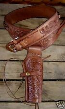 NEW Brown Leather Single Western  Cowboy Holster 44/45 cal a