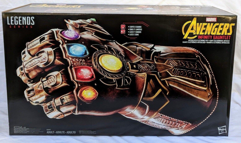Guantelete del infinito Los Vengadores Marvel Legends Infinito Guerra Thanos-Nuevo en la acción