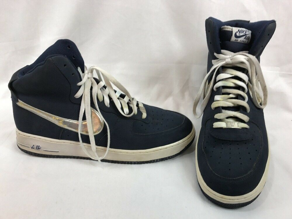 detailed look 98e5b bc512 Nike Air Force 1 High  07 Men s Men s Men s Shoes Navy Blue 315121-405
