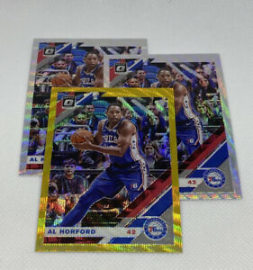 3-x-Al-Horford-2019-20-Panini-Optic-1-Gold-2-Silver-Prizm-Wave-Lot