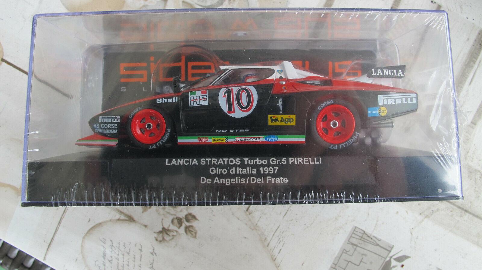 Sideways Racer Lancia Stratos Turbo Pirelli   10  Giro d`Italia 1977  Ref. SW63
