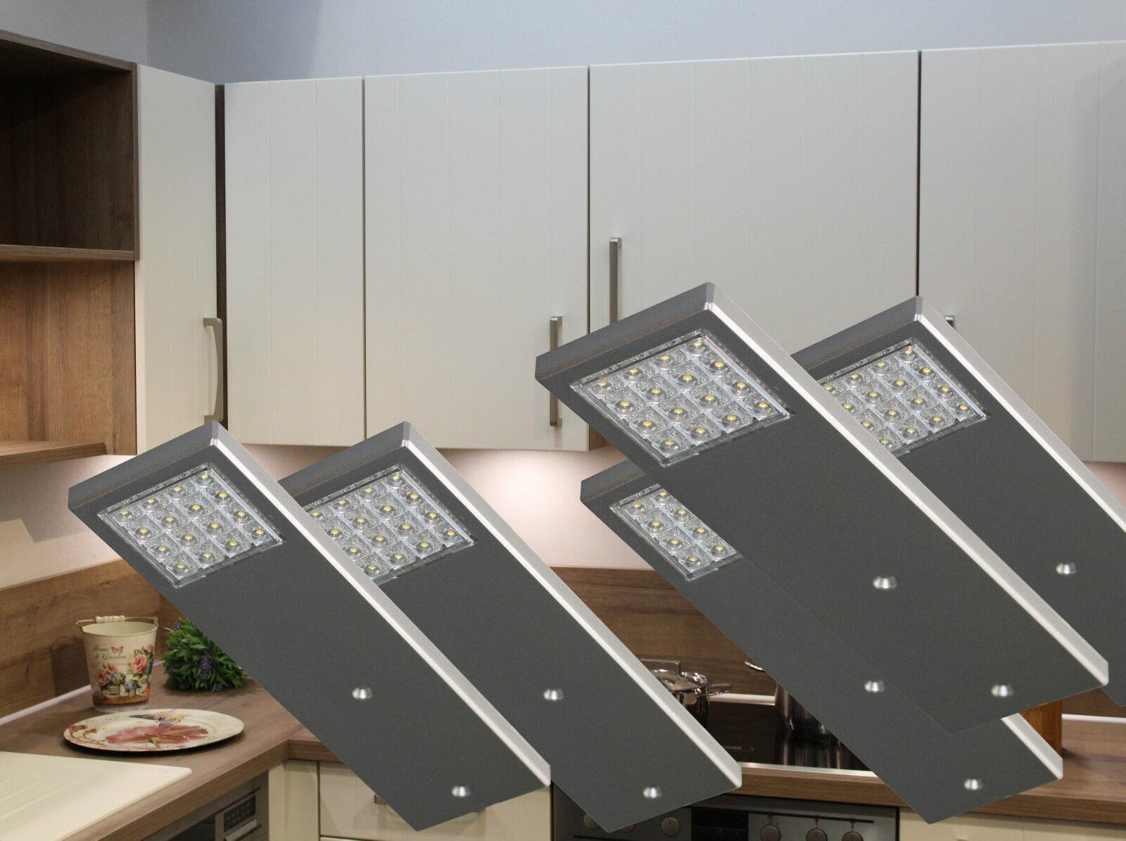 LED Unterbauleuchte Set Küchen- und Vitrinenleuchten Küchenlampe NEU Mod.2075-76