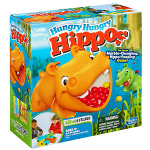 Hungry Hungry Hippos Board Game NEW