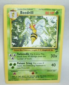 Pokemon-Card-Beedrill-21-130-Rare
