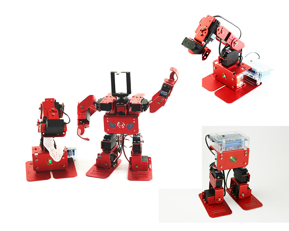 Robotics Kit for Kids to Build 4 Different Robots, Red