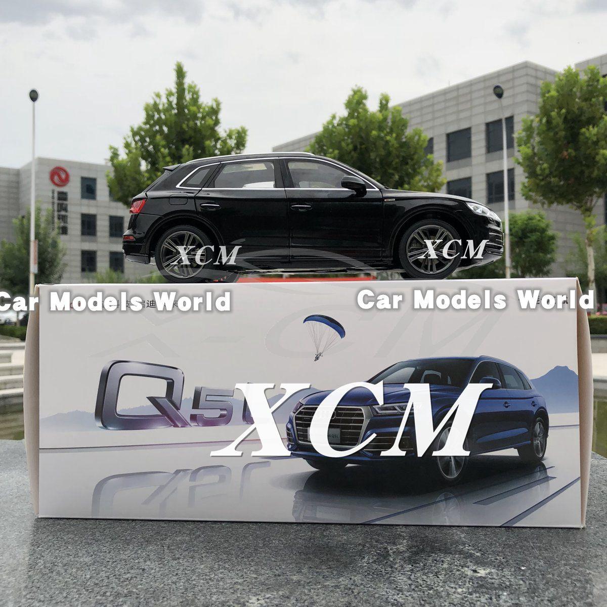 Diecast modèle de voiture pour tous les nouveaux Q5L Q5 L SUV 1 18 (Noir) + eau