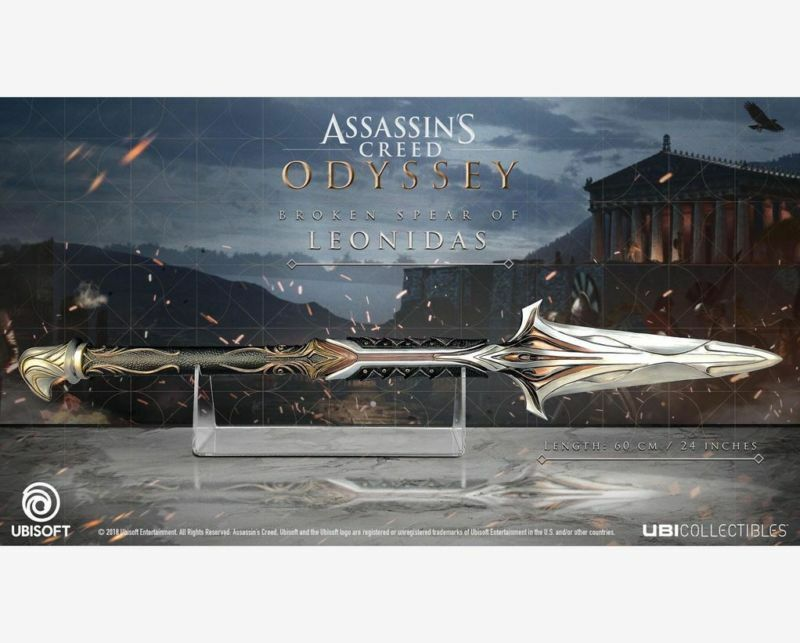 For Assassin's Creed Odyssey Broken Spear of Leonidas Replica Cosplay Collection
