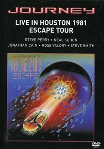 Journey-Live-in-Houston-1981-The-Escape-Tour-New-DVD-Ac-3-Dolby-Digital-Do