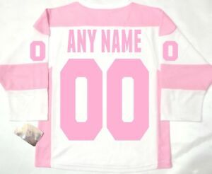37bbe214734 ANY NAME/NUMBER TORONTO MAPLE LEAFS GIRL/WOMEN/LADY PINK L/XL NHL ...