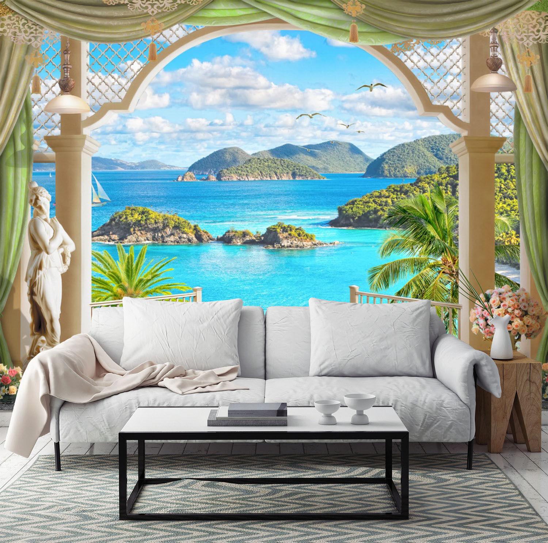 3D Outdoor Sea Landscape 0183 Wall Paper Wall Print Decal Wall AJ WALLPAPER CA