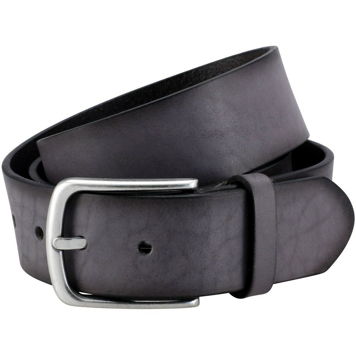 Ledergürtel Herren   Gürtel Damen The Art of Belt by LINDENMANN unisex, grau, 90 | Online Shop Europe  | Erste in seiner Klasse