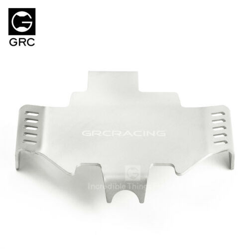GRC TRX4 Stainless Steel Chassis Protection Plate Silver For TRX-4  #GAX0106A1