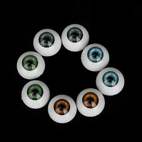 Augen für puppe 20 mm-22 mm 4 paare wiedergeboren bjd ooak dollfie bastelarbeit