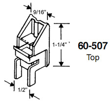 STB Top Guide for Window Channel Balances, Unattached