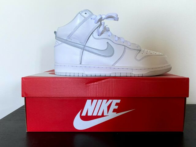 Nike Dunk High Pure Platinum Size 11.5 Brand New Deadstock