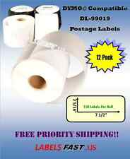 99019 - 15 Rolls - PayPal & eBay Postage Labels for Dymo® Compatible Printer