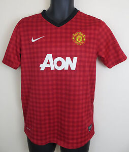 5780e85764a Image is loading Nike-Manchester-United-Football-Shirt-Soccer-Jersey -Voetbal-