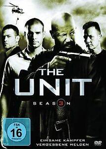 The-Unit-Eine-Frage-der-Ehre-Season-3-3-DVDs-von-Dav-DVD-Zustand-gut