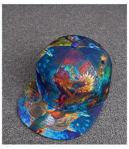ccbe3eb8f13 New Sale Fashion 3D Print Dragon Snapback Hats Hip-Hop Baseball Cap ...
