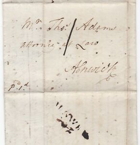 1788-HOLY-ISLAND-A-C-LETTER-LOCAL-1d-RATE-gt-THOMAS-ADAMS-ALNWICK-NORTHUMBERLAND