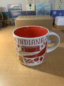 Starbucks Been There Collection Indiana Mug 14 Oz