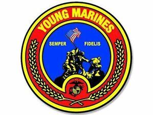 "MARINE CORPS AFGHANISTAN COMBAT VETERAN 5/"" CAR  BUMPER STICKER DECAL MADE IN USA"
