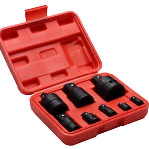 8X-Impact-Socket-Deep-Tool-Set-Adaptor-Convertor-Reducer-Garage-Workshop-Kit-New