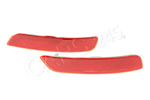 For BMW F15 X5 2014-2017 Rear Driver Left Reflector-Bumper Cover Red Genuine