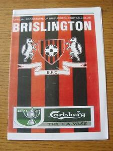 15112008 Brislington v Bideford FA Vase Creased - Birmingham, United Kingdom - Returns accepted within 30 days after the item is delivered, if goods not as described. Buyer assumes responibilty for return proof of postage and costs. Most purchases from business sellers are protected by the Consumer Contr - Birmingham, United Kingdom