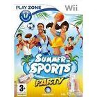 Summer Sports Party (Nintendo Wii, 2009) - European Version