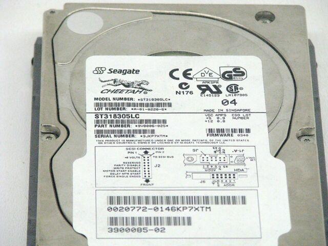 SEAGATE/ CHEETAH 10K.7 18.3 GB,10008 RPM (ST318305LC) HARD DRIVE