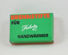Herbertz 12 Ersatzbrennstifte Taschenwärmer Handwärmer