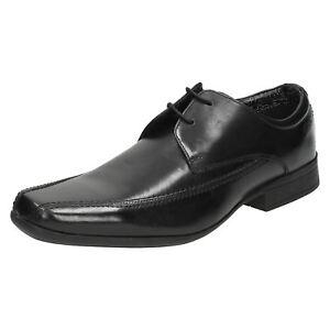 para r22d hombre de zapatos Baze cuero Day Fitting negro Clarks G nvBqXTwpp