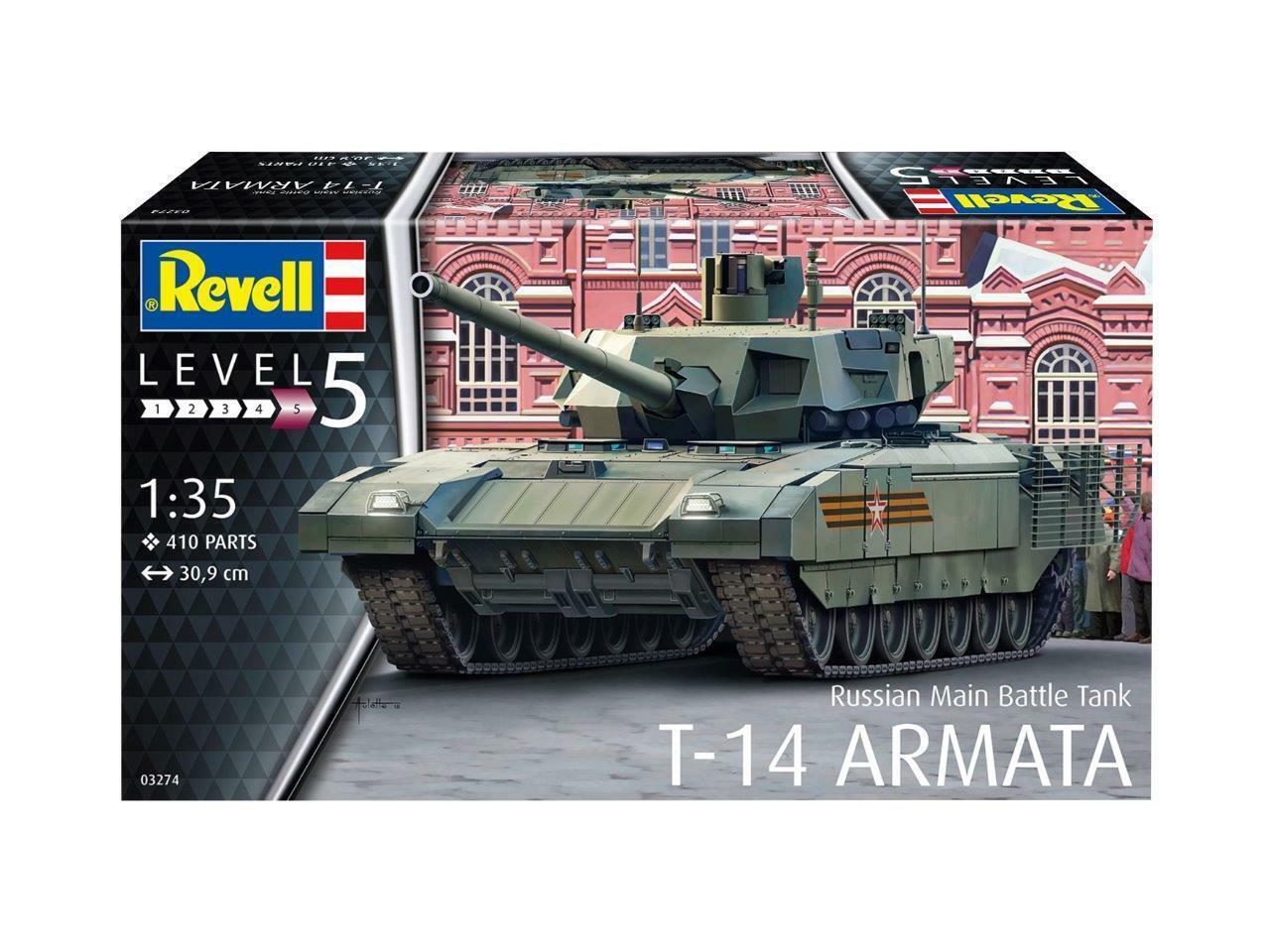 Revell 1 35 Sovietico T-14 Armata Carro Armato di Battaglia Principale