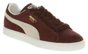 59dc54370a4c Puma Men s SUEDE CLASSIC+ Shoes NEW AUTHENTIC Cabernet Burgundy ...
