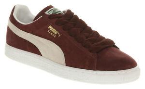 4fb3d898fe Puma Men's SUEDE CLASSIC+ Shoes NEW AUTHENTIC Cabernet Burgundy ...