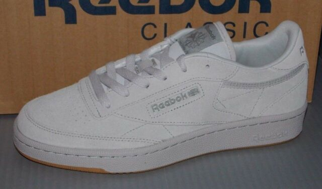 Bd4561 Reebok Kids Unisex Club C 85 Tg Big Kid Athletic Shoe 5 5 Big Kid M Steel Carbon Gum For Sale Online Ebay