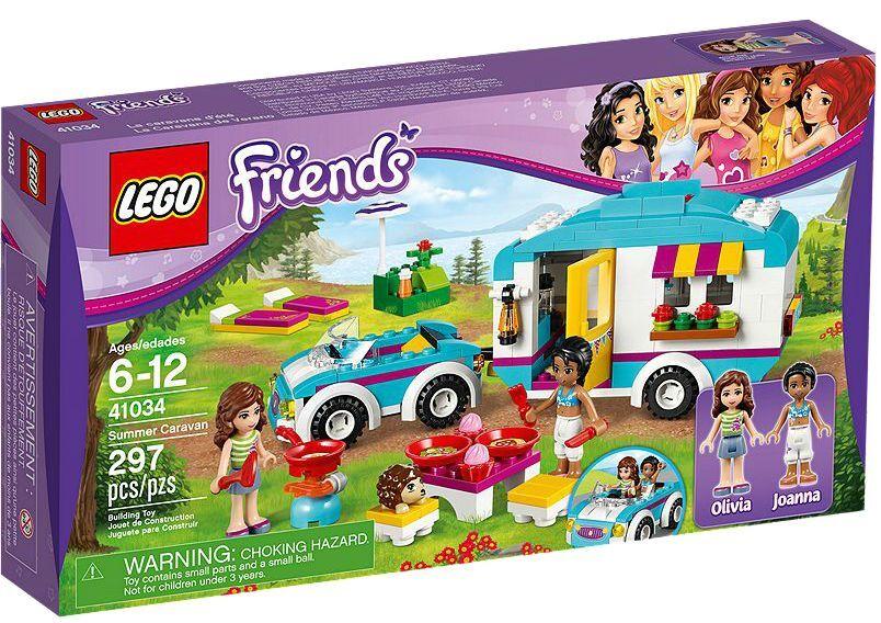 LEGO ® Friends 41034 voitureavanes-Excursion  Nouveau neuf dans sa boîte _ été voitureAVANE nouveau En parfait état, dans sa boîte scellée Boîte d'origine jamais ouverte  économiser jusqu'à 80%