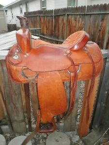 """16"""" Circle A American Saddlery Roping Western Saddle"""