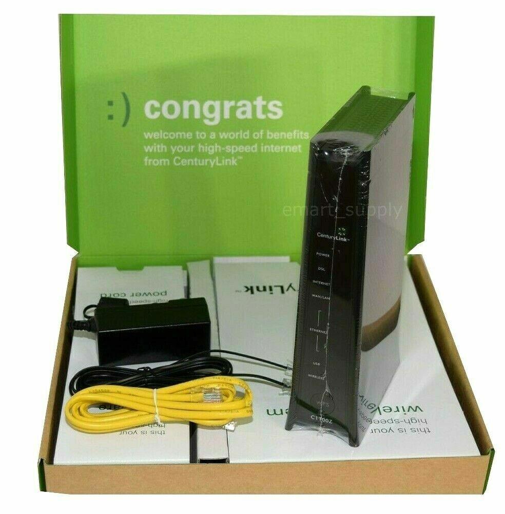 CenturyLink C1100Z ZyXEL 802.11n Wireless Modem Router VDSL ADSL2+  GPON SEALED. Buy it now for 68.49