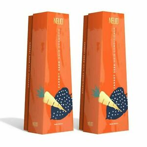Neud Carrot Seed Premium Shampoo & Hair Conditioner Combo 300ml Each Pack Of 2