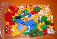LEGO bedruckte Steine aus Spieleboxen 350 Gramm