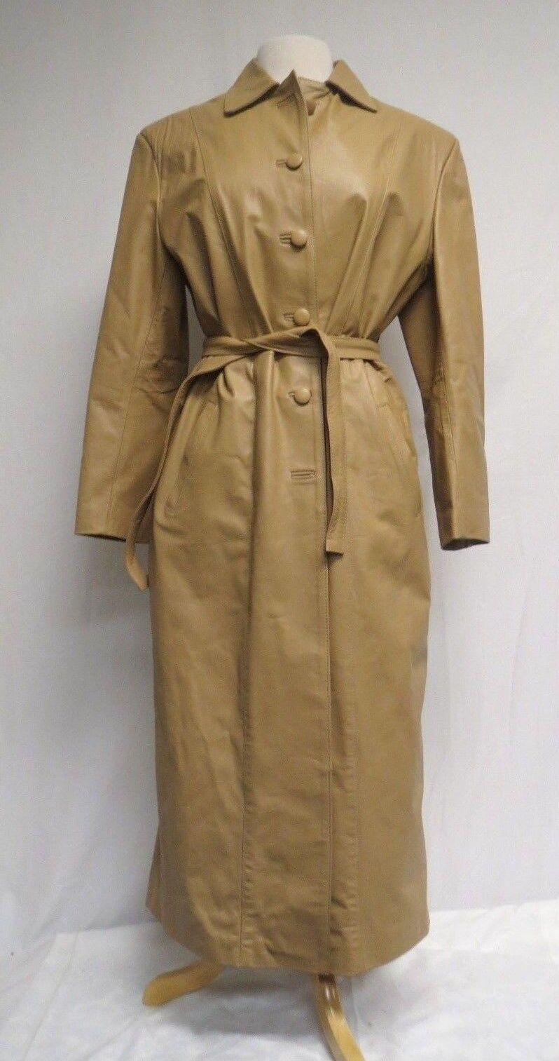 Ronny Woman's Leder Coat Cueros Leders Größe Large Buenos Aires