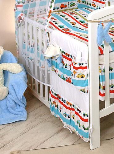 NURSERY COT BED SET ORGANISER BABY BOY//GIRL COT TIDY