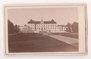 Vintage-CDV-Drottningholm-Palace-private-residence-of-the-Swedish-royal-family