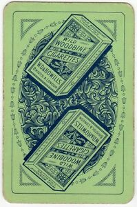 Playing Cards 1 Swap Card Old Vintage WILD WOODBINE Cigarettes Packet Smoking 2 - Bristol, United Kingdom - Playing Cards 1 Swap Card Old Vintage WILD WOODBINE Cigarettes Packet Smoking 2 - Bristol, United Kingdom