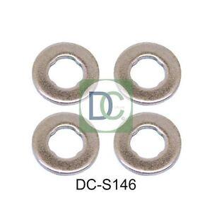 Diesel injecteur rondelles//joints pour kia cerato 2.0 crdi-pack de 4