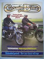 Classic Bike Magazine. No. 42. July, 1983. Testing 500 BSA A7, 350 Velo racer.