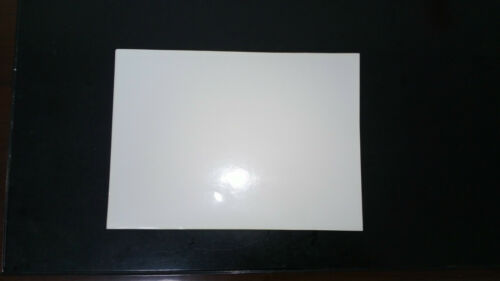 """10 SHEETS   Letter size 8.5/"""" 11/"""" Glossy White Self Adhesive Sticker Paper"""